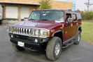 Red H2 Hummer